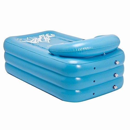 LIVY Erwachsenen aufblasbare Badewanne König den Lauf Bad große Kunststoff-Töpfe in adult Bad Lauf