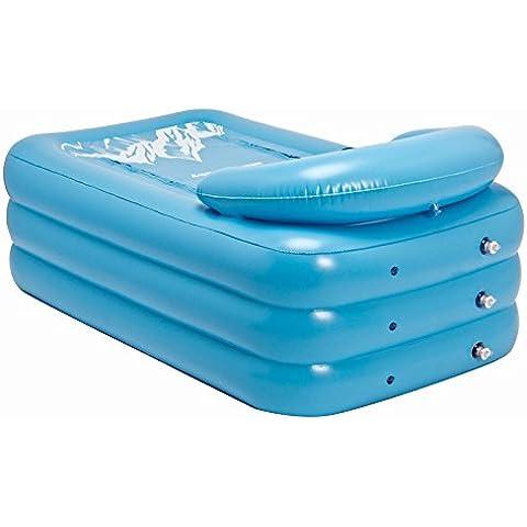 LIVY Vasca da bagno gonfiabile adulto re la canna bagno grandi vasi di plastica in canna da bagno adulto