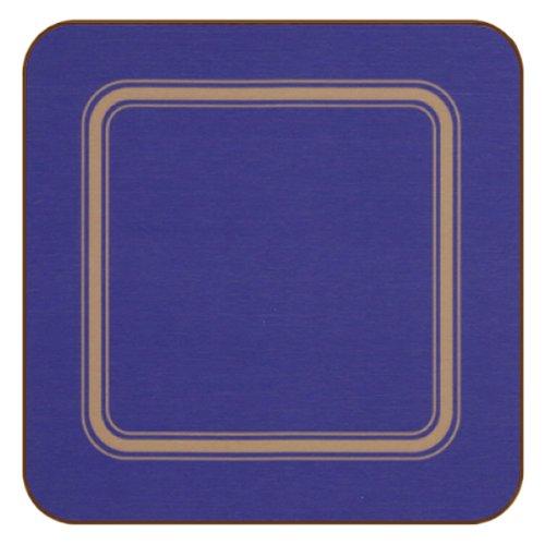 plymouth-pottery-pro-range-regal-sottobicchieri-blu-set-di-6