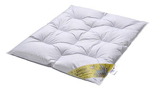 ARO 100% Snowgoose Kinderbettdecke,100x135 cm, weisse Sibirische 100% Schneegänsedaune,470033,SUPERLUXE