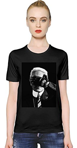 Karl Lagerfeld Fashion Icon Womens T-shirt Large - Galliano Damen-kleidung