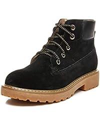 7c37878ce0f Botas de mujer Botas de tobillo Botines de mujer Botas de Martens de moda  Bota de