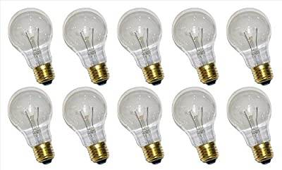 10 x Glühbirne Glühlampe AGL 15W E27 klar