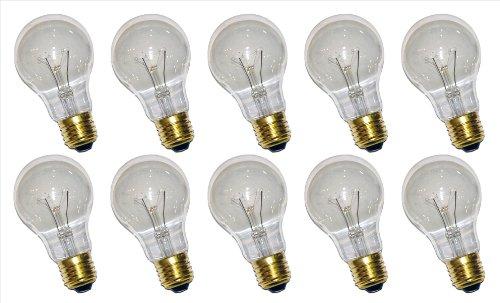 10 x Glühbirne Glühlampe AGL 15W E27 klar - 15w Glühlampe