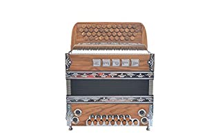 "Steirische Harmonika Alpen Modell Compact ""Olive"" G C F B"