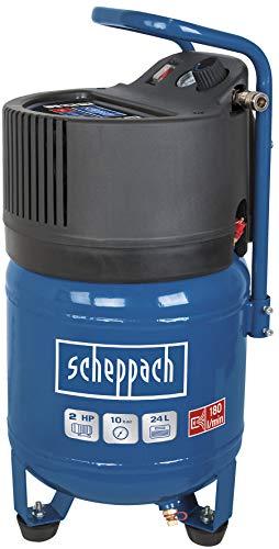 Scheppach Kompressor HC24V (1500 Watt 24 L, 10 bar, Ansaugleistung 180L/min, ölfrei)