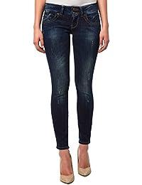 LTB Jeans Damen Jeanshose/ Lang 5065 / Molly Röhre, Skinny / Slim Fit (Röhre) (Weitere Farben)
