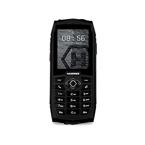 "myPhone Hammer 3 2.4\"" 156g Negro Característica del teléfono - Teléfono móvil (Barra, SIM Doble, 6,1 cm (2.4\""), 0,3 MP, 2000 mAh, Negro)"