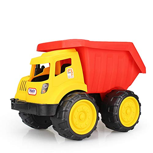 Hobabld Auto Kinder Spielzeug Engineering Fahrzeuge mittel großes Geschenkset Dick Kippschaufel Bagger Baufahrzeug Bulldozer,A