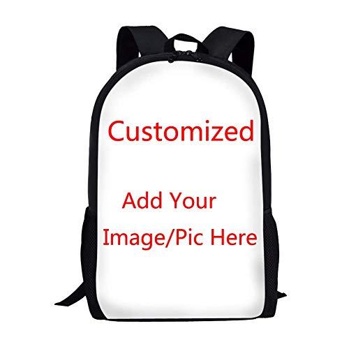 316e1903408e Cute Pet Cat Impreso School Backpack Girls Boys Denim Student Bookbags  (Color : Custom, Size : -)