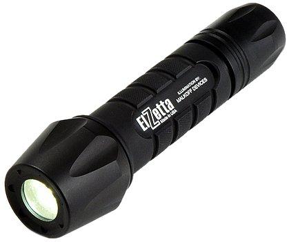 elzetta zfl-m60-sf2s Tactical Waffe LED Taschenlampe mit Flutlicht Standard-Objektiv Blende, 2-zelligen, Click High/Strobe Tail Cap