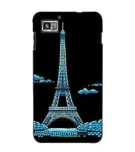 Fuson Designer Back Case Cover for Lenovo K860 :: Lenovo IdeaPhone K860 (An Eifel Tower Paris)