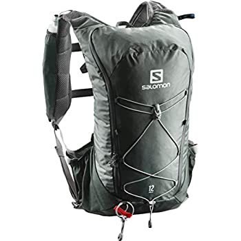 Salomon Agile 12 Set Mochila para Trail Running, Unisex Adulto, Gris (Urban Chic