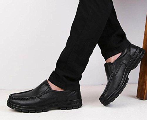 Moda Disinvolti Coreani Di Pigre Black Per Uomini Scarsi Aiutare Scarpe Set Alla Scarpe gAtd5q
