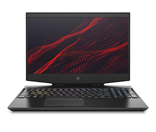 HP Omen Core i7 9th Gen 15.6-inch FHD Gaming Laptop (16GB/1TB HDD + 512GB SSD/Windows 10/NVIDIA GTX 1650 4GB Graphics/Shadow Black), 15-dh0135TX