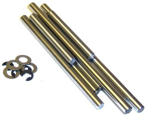 81032 RC Lower Arm Pins + EClips 8.1 - Eclip-pin