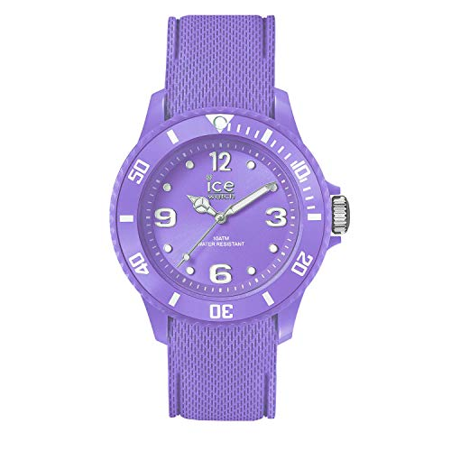 Ice-Watch - Ice Sixty Nine Purple - Lila Damenuhr mit Silikonarmband - 014235 (Medium)