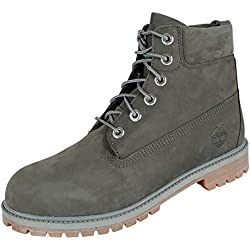 Timberland Youth 6 Premium Nubuck Coal Bottes 38 EU