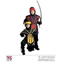 Sancto-Kombat-Ninja-Costume-Child-Fancy-Dress-Costume-Boys-Ninja Kombat Ninja (128 cm) für Kostüm für Karneval -