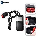 flydragonsuper Diagnose-Tester Diagnosescanner,Diagnosegerät Auto OBD,OBD-Ii Ngerung,150E TCS CDP OBD2 mit Bluetooth-Auto-LKW