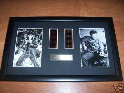 DGM - Sezioni di pellicola di Elvis Presley con cornice e certificato, edizione limitata