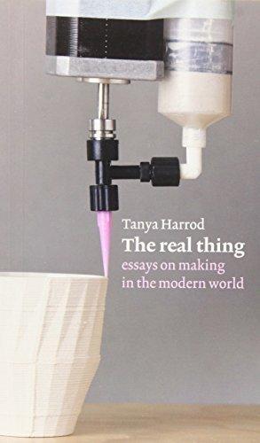 Real Thing by Tanya Harrod (2015-01-22)