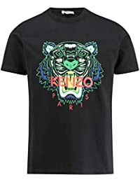 3d16680b Kenzo Mens Tiger T-Shirt Black