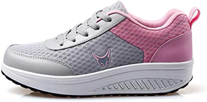 58afc1c524c606 fangyou1314 mesh des chaussures à dessous dessous dessous de muffins pente  (couleur: dentelle rose et chaussures, taille: 5 uk) b07h8cf1jk parent ...