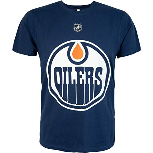 NHL Fanatics T-Shirt Edmonton Oilers Leon Draisaitl #29 Eishockey (L)