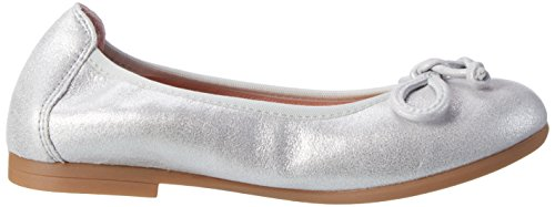 Unisa Casia_17_Mts, Ballerines Fille Argent (Silver)