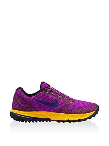 Nike Gore Tex (Nike Damen W Air Zoom Wildhorse 3, veilchenrosa/gelb, 39 EU)