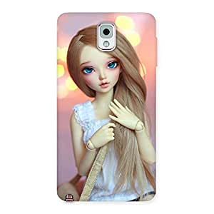 Doll With Bag Multicolor Back Case Cover for Galaxy Note 3