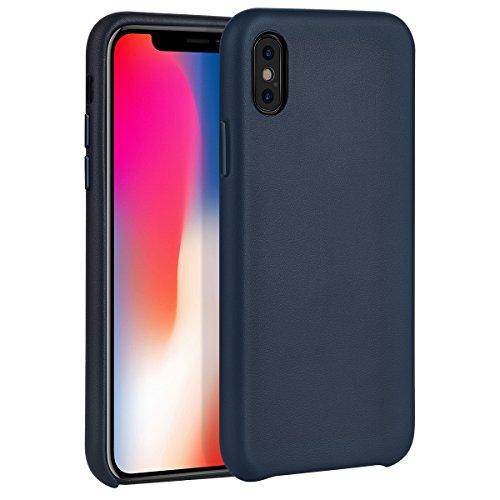 hoco. Coque iphone X, iPhone 10 Case en Cuir Slim-Fit Premium Anti-Choc...