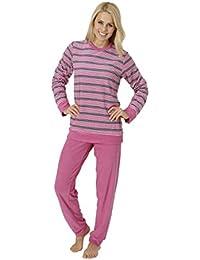 suchergebnis auf f r schlafanzug frottee damen rosa bekleidung. Black Bedroom Furniture Sets. Home Design Ideas