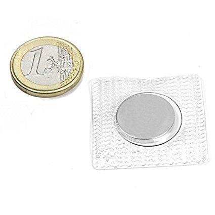Neodym Scheibenmagnete extra stark zum Basteln & Nähen (10 Stück I 18x2mm)