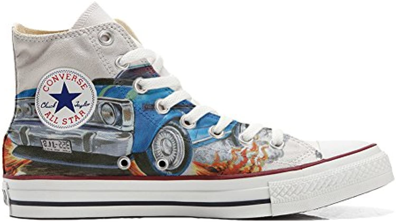 Shoes Custom Converse All Star  personalisierte Schuhe (Handwerk Produkt) Chevrolet