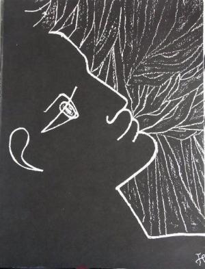 Jean Cocteau, poésie graphique par Jean Cocteau