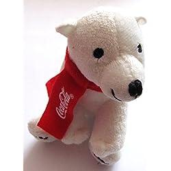 Coca Cola - Eisbär sitzend - 11 cm