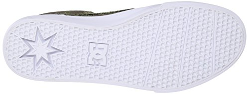 DC Mens Trase Slip-on X DPM Skate Shoe Grey Camo