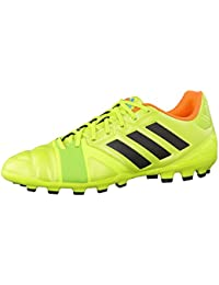 adidas Bota Jr 11Nova TRX FG White-Black-Solar blue Talla 5,5 UK