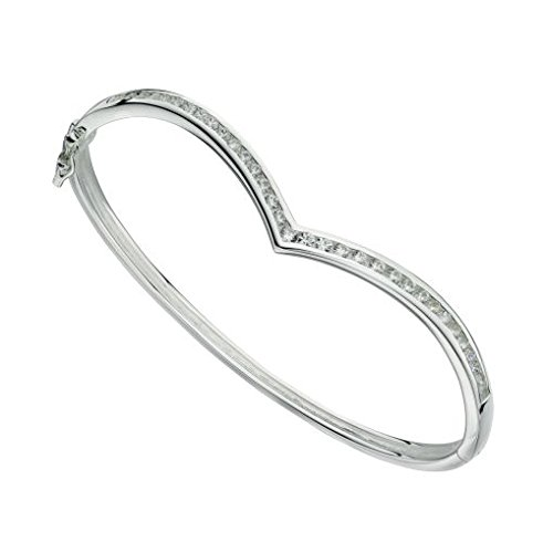 elements-silver-sterling-silver-ladies-channel-set-cubic-zirconia-wishbone-bangle