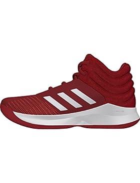 Adidas Pro Spark 2018, Zapatos de Baloncesto Unisex Niños