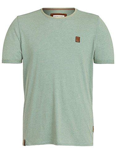 Naketano Male T-Shirt Tambowskaya II heritage green melange