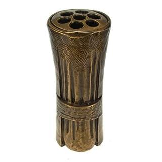 Art-Odlew Grabvase Mallin aus Bronze , D=10cm H=23cm 2,7Kg