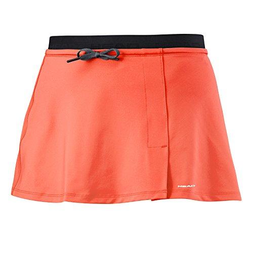 HEAD Vision Skirt Womens Falda, Mujer, Coral, Small