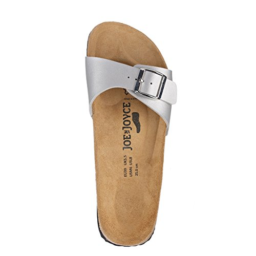 JOE N JOYCE Dargun Synsoft Soft-Fußbett Sandalen Glitter Black