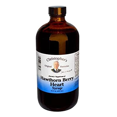 Dr Christophers Hawthorn Berry Heart Syrup 16 Oz from Dr. Christopher's Original Formulas