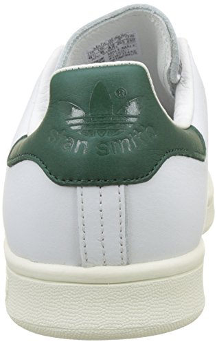 adidas Stan Smith, Scarpe da Ginnastica Basse Uomo Bianco (Footwear White/footwear White/collegiate Green)