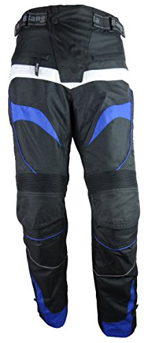 Bangla 1545 Motorradhose Tourenhose Textil Cordura 600 schwarz-blau XXXL