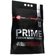 Prozis Sport Prime Fusion Night Casein 2.0, Suplemento de Proteínas, Sabor a Galletas y Crema - 1250 gramos